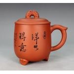 400ml, Yixing Zisha Red clay Teapot,Proud pottery,pot