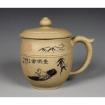 420ml, Yixing Zisha purple clay,pot​tery,teapot,tea pot