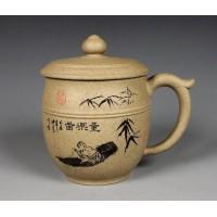 420ml, Yixing Zisha purple clay,pottery,teapot,tea pot