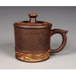 320ml, Yixing Zisha clay,Tea cup pot​tery,China teapot