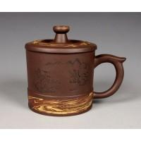 320ml, Yixing Zisha clay,Tea cup pottery,China teapot