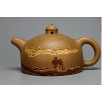 Yixing Zisha clay,pottery,teapot,Yurt,Mongolia,camel