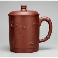 400cc,Yixing Zisha teapot,China tea pot cup,Bamboo