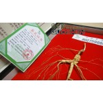 0.35 oz, 100% China Old WILD GINSENG ROOTS Gift box,15 years,ye ren shen 10g