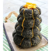 "1000g, Yunnan ""Jin Gua Gong Cha"" Uncooked Pu erh Tea, Tuo Tuan Tower RAW er Cake 金瓜贡普洱茶"