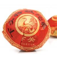 Xiaguan Te Ji Tuo Tea Cake, First Grade Yunnan Tuo Pu erh RAW Cha, Pu er