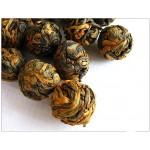 Organic Black Pearl Dian Hong Tea,Yunnan Handmade Black balls Cha