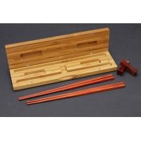 Two pairs chopsticks,Luxury lobular Rosewood Tan, Top Red Sandalwood wood Kuaizi 小叶紫檀木筷子