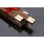 10 pairs,high grade chopsticks,Natural China Wenge wood,Asia chicken-wing Kuaizi 鸡翅木筷子