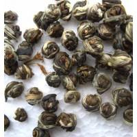 Dragon Pearl, Jasmine balls Green Tea, Mo Li Long Zhu Cha,  茉莉龙珠花茶