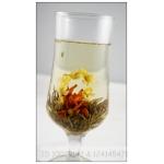 Bai He Hua Lan, Lily Flower Basket,   Blooming Flowering  Tea