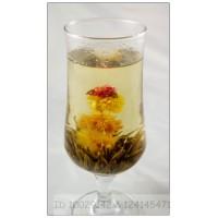 Si Ji Wang , Seasons Wang,   Blooming Flowering Flower Artistic Tea