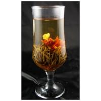 Ai xin feng xian ,  Love dedication,   Blooming Flowering Flower Artistic Tea