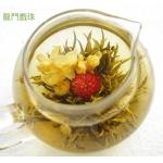 Long Men Xi Zhu ,  Chinese Blooming Flowering Flower Artistic Tea