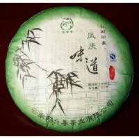 357g, Yunnan Fengqing old tree pu erh beeng tea Cake,RAW