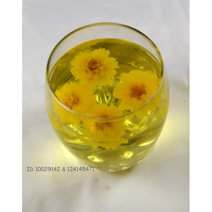 Yellow Chrysanthemum Flower Tea Huang Ju Hua Cha